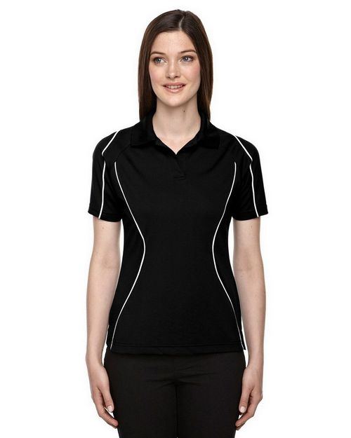 Extreme 75107 Velocity Ladies Snag Protection Color Block Polo With Piping