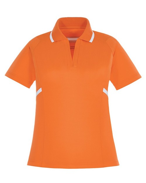 Extreme 75118 Propel Ladies Eperformance Interlock Polos With Contrast Tape