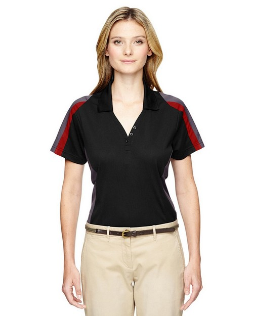 Extreme 75119 Ladies Eperformance Strike Colorblock Snag Protection Polo