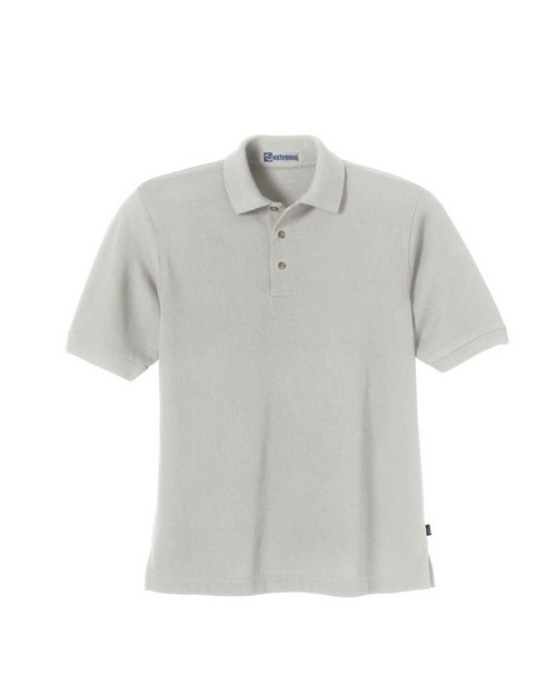 Extreme 85075 Mens Short Sleeve Pique Polo With Teflon