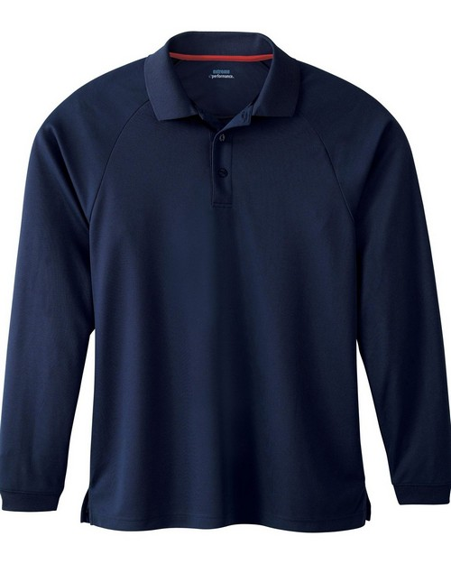Extreme 85099 Mens Long Sleeve Eperformance Pique Polo