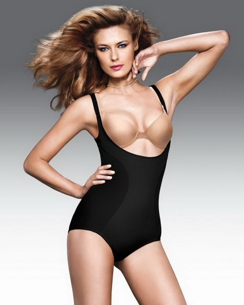 Flexees 2656 Ultimate Slimmer Wear Your Own Bra (WYOB) Torsette Body Briefer