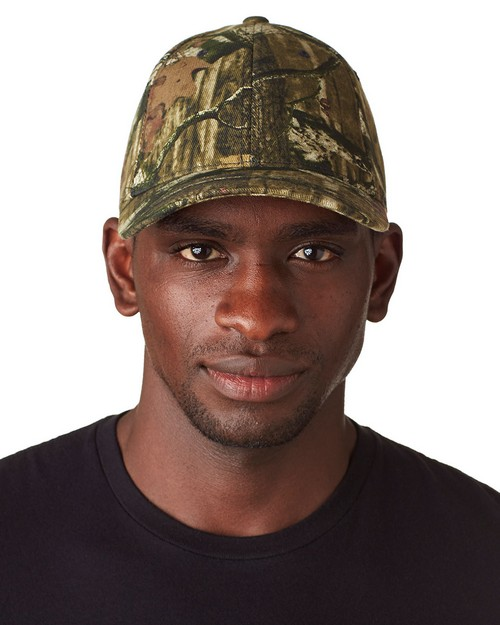 Flexfit 6999 Flexfit Mossy Oak Break-Up Pattern Camouflage Cap