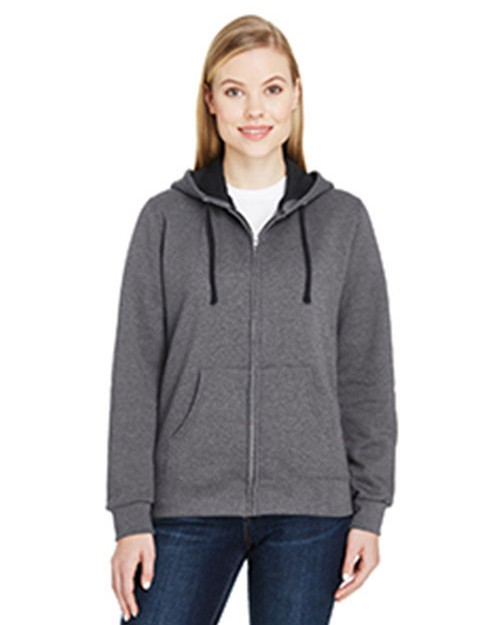 Fruit Of The Loom LSF73R Ladies 7.2 oz. Sofspun Full-Zip Hooded Sweatshirt