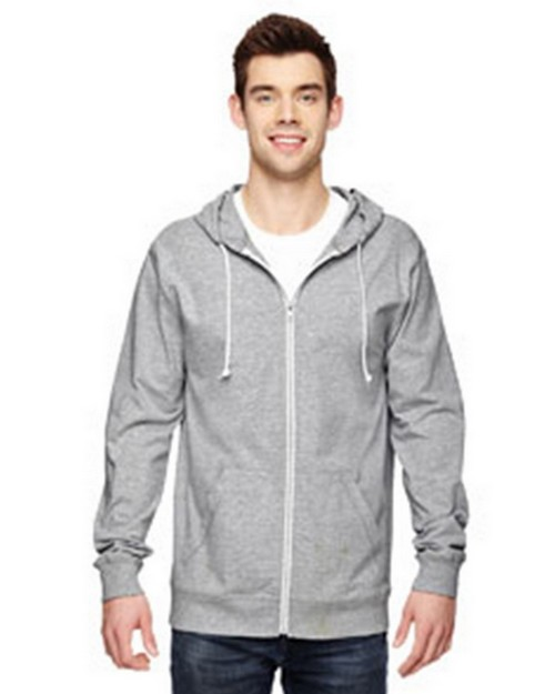 Fruit Of The Loom SF60R 100% Sofspun Cotton Jersey Full Zip Hoodie