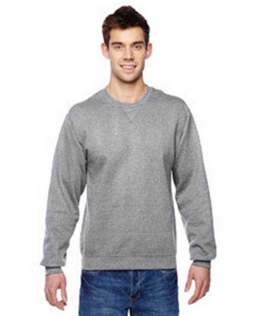 Fruit Of The Loom SF72R Sofspun Crewneck Sweatshirt