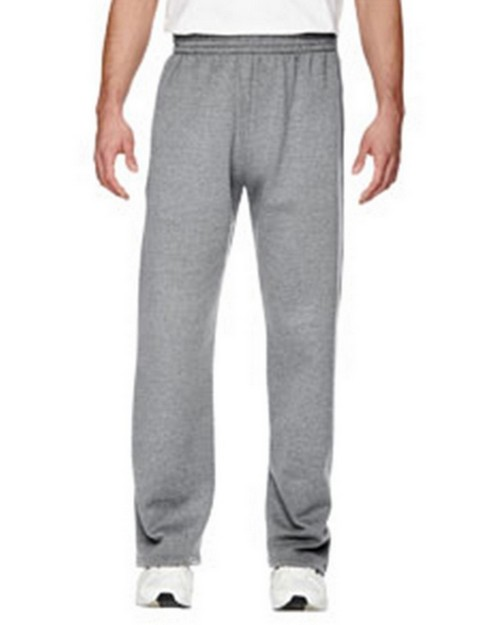 Fruit Of The Loom SF74R Sofspun Open Bottom Pocket Sweatpants