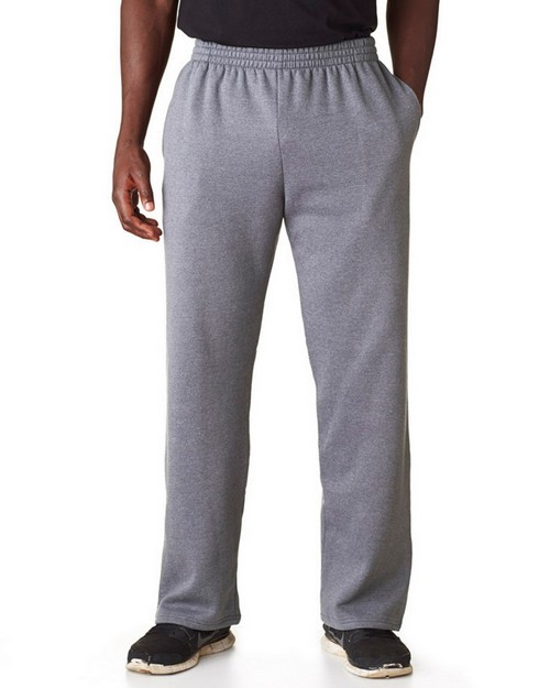 Fruit Of The Loom SF74 Adult Sofspun Open-Bottom Sweatpants with Pockets