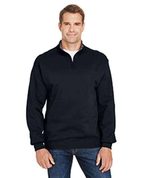 Fruit Of The Loom SF95R Adult 7.2 oz. Sofspun Quarter-Zip Sweatshirt