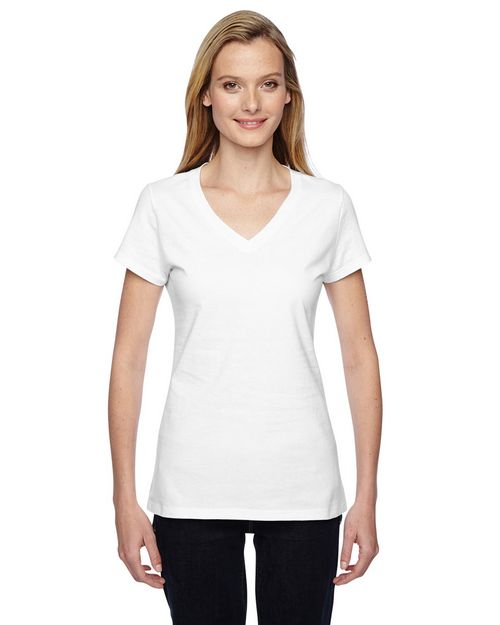 Fruit Of The Loom SFJVR Ladies 100% Sofspun Cotton Jersey T-Shirt
