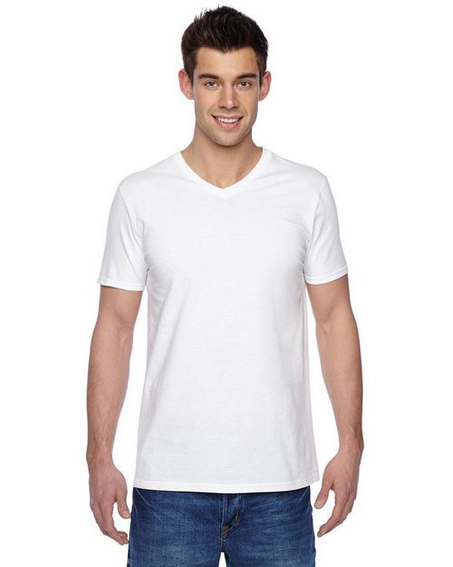 Fruit Of The Loom SFV Adult Sofspun V-Neck T-Shirt