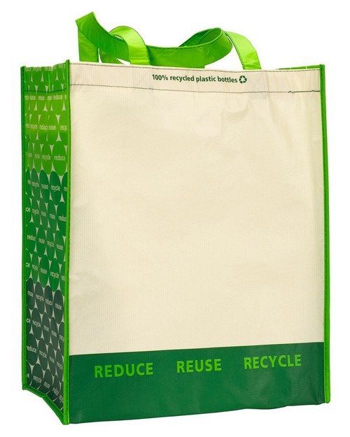 Gemline 1768 Laminated 100% Recycled Shopper