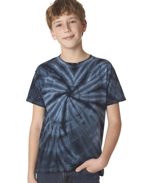 Gildan Tie-Dyes 67B Youth Vat-Dyed Cyclone Tee