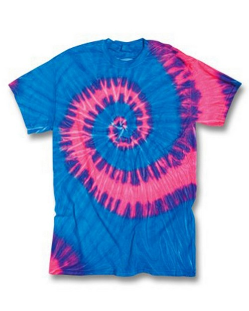 Gildan Tie-Dyes 94 Adult Cotton Wave Tee