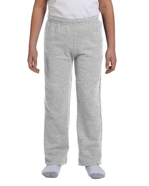 Gildan 18400B GD Youth Open Bottom Pant