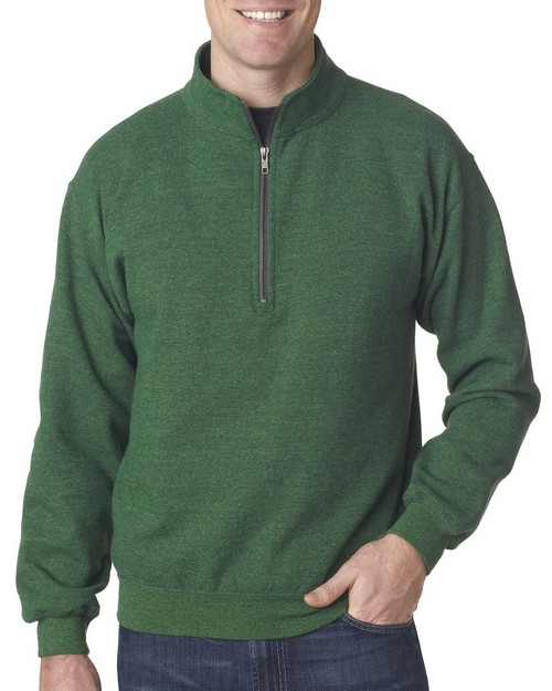 Gildan 18800 Adult Heavy BlendVintage 1/4-Zip Cadet Collar Sweatshirt