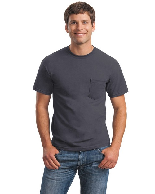 Gildan 2300 Ultra Cotton 100% Cotton T Shirt with Pocket
