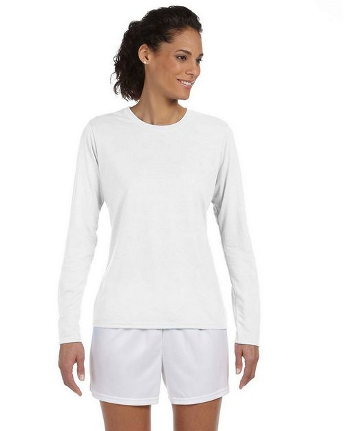 Gildan 42400L Ladies Core Performance Long Sleeve T Shirt