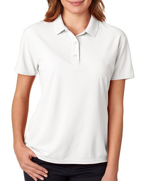 Gildan 45800L Performance Ladies Double Pique Polo Shirt