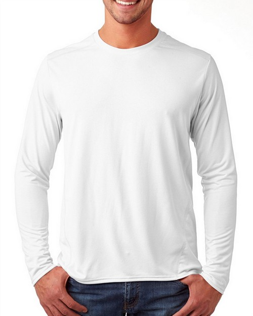 Gildan 47400 Performance Adult Long-Sleeve Tech T-Shirt