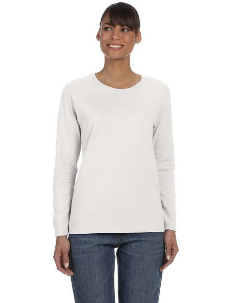 Gildan 5400L Missy Fit Heavy Cotton Fit Long Sleeve T Shirt