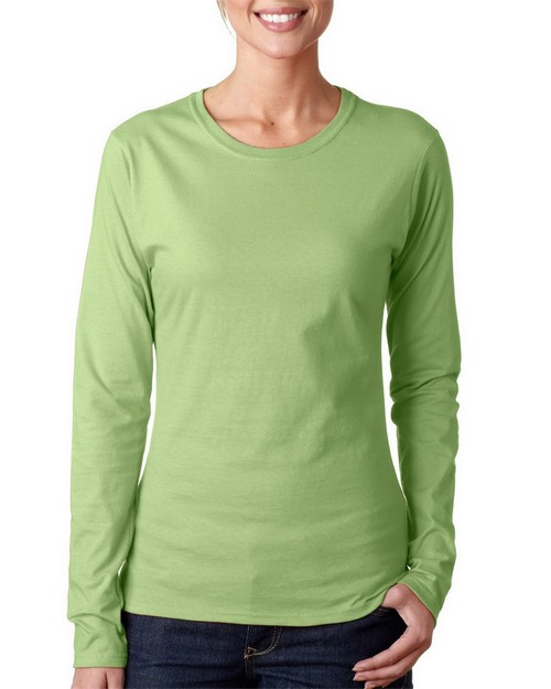 Gildan 64400L Ladies Long Sleeve Tee