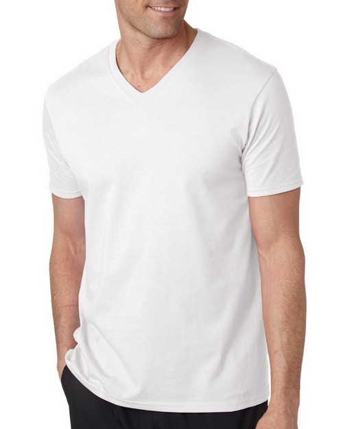 Gildan 64V00 GD Adult V Neck Tee