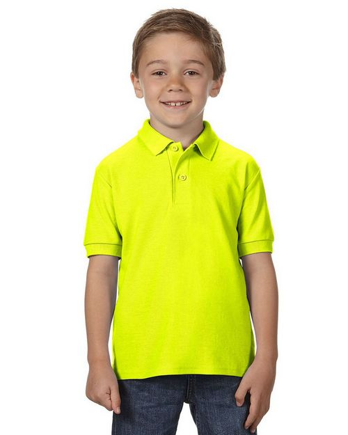 Gildan 72800B DryBlend Youth Double Pique Polo Shirt