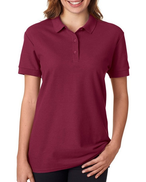 Gildan 82800L Premium Cotton Ladies Double Pique Polo