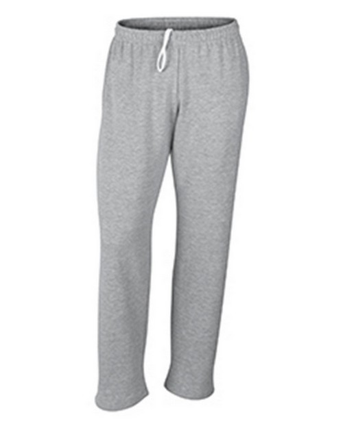 Gildan G12300 Dryblend Adult Open Bottom Pocketed Sweatpants