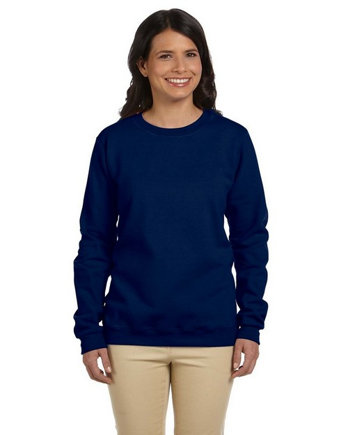 Gildan G180FL Ladies Heavy Blend 50/50 Fleece Crew