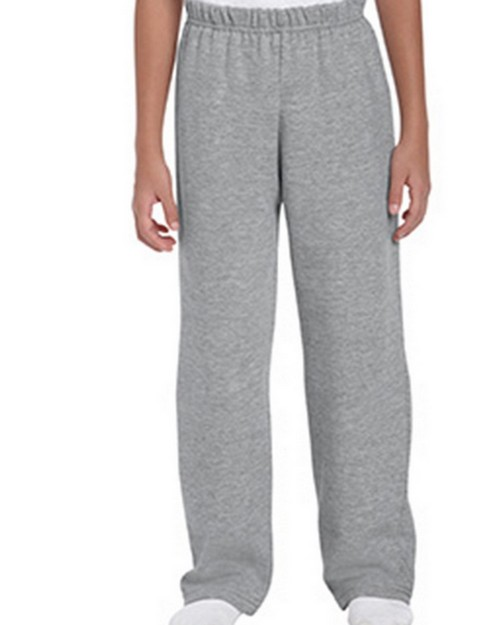 Gildan G18400B Heavy Blend Youth Open Bottom Sweatpants
