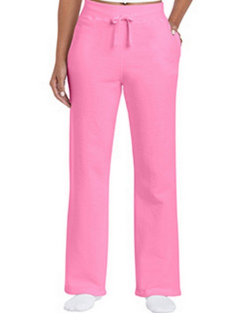Gildan G18400FL Heavy Blend Ladies Open Bottom Sweatpants