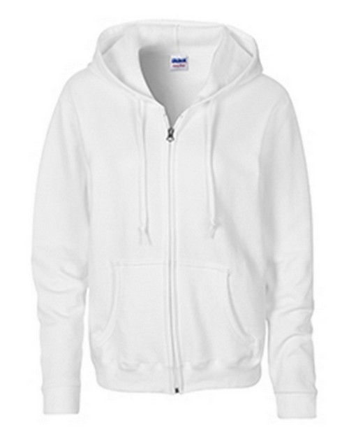 Gildan G18600FL Heavy Blend Ladies Full Zip Hooded Sweatshirt