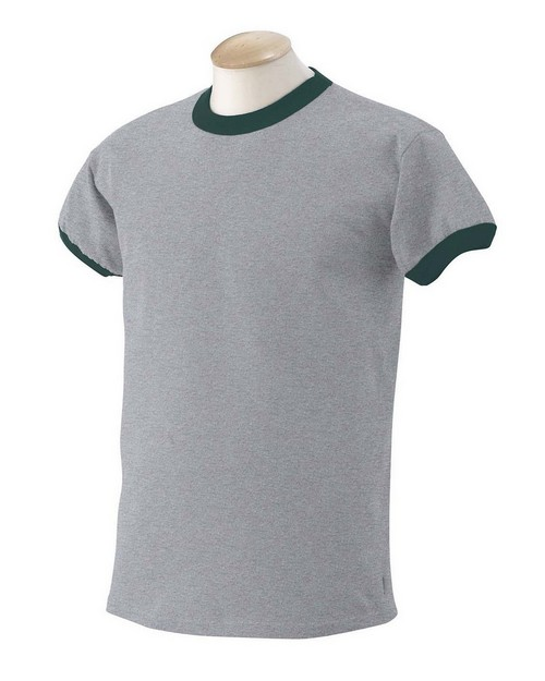 Gildan G260 Ultra Cotton Ringer T Shirt