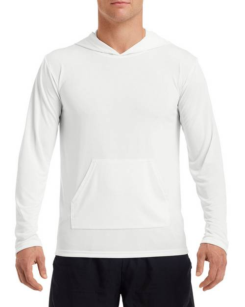 Gildan G465 Mens Performance Hooded T-Shirt