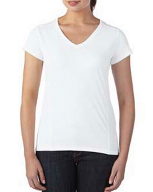Gildan G47V Ladies Tech Short-Sleeve V-Neck