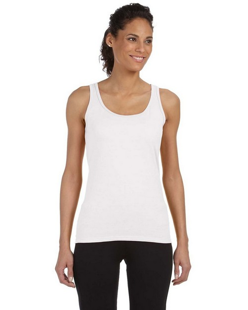 Gildan G642L Ladies SoftStyle Junior Fit Tank Top