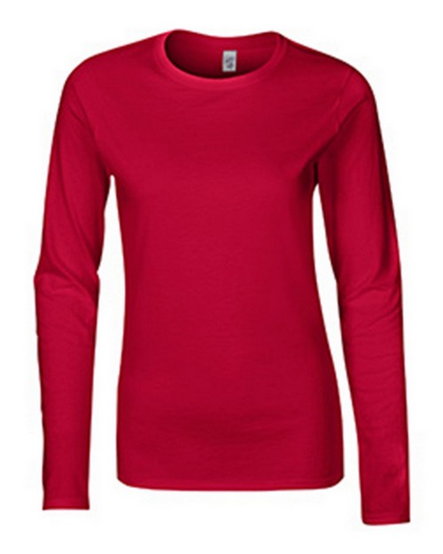 Gildan G64400L Softstyle Ladies Long Sleeve Tee