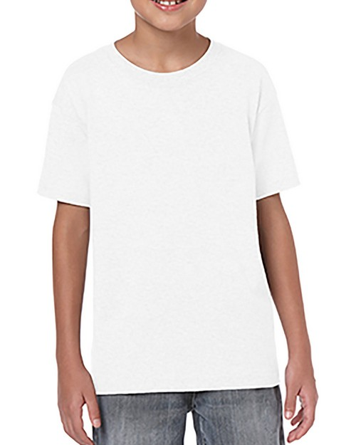 Gildan G645B Youth Softstyle 4.5 oz T-Shirt
