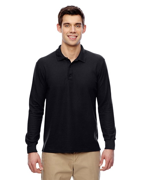 Gildan G72900 Dryblend Adult Double Pique Long Sleeve Sport Shirt