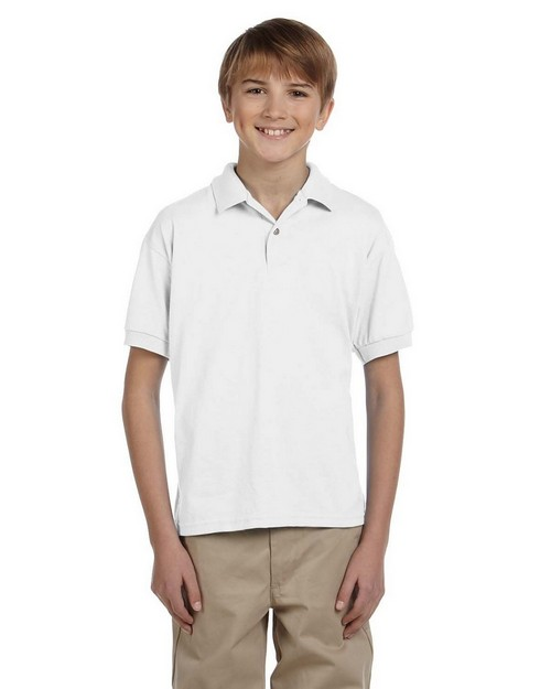 Gildan G880B Youth DryBlend 50/50 Jersey Polo