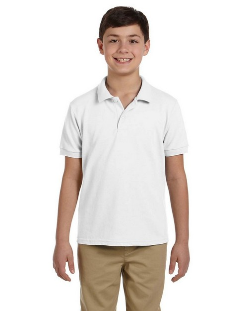 Gildan G948B Youth DryBlend Pique Sport Shirt