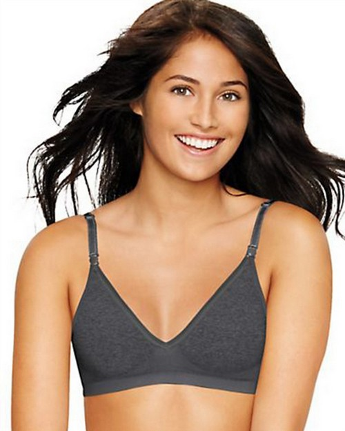 Hanes HU11 Comfy Support ComfortFlex Fit Wirefree Bra