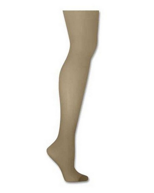 Hanes 00718 Silk Reflections Control Top Reinforced Toe Pantyhose
