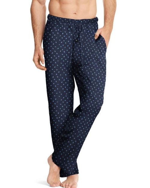 Hanes 01000 Mens ComfortSoft Cotton Printed Lounge Pants