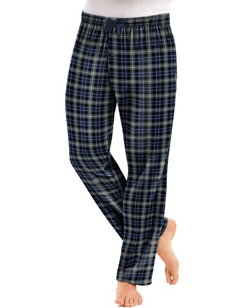 Hanes 02006 Mens Flannel Pants with Comfort Flex Waistband