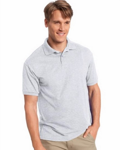 Hanes 054X Mens Comfortblend Ecosmart Jersey Polo