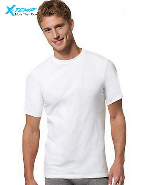 Hanes 2535X3 Mens X-Temp White Undershirt ( pack of 3)