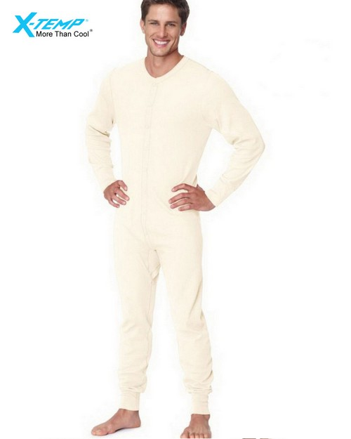 Hanes 25447 Mens X-Temp Thermal Union Suit